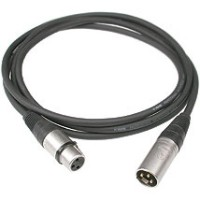 0.5M 3 pin XLR Male to Female DMX 512 & Audio