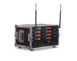 JTS 6 Way UF-20R Rack system with 6 JSS-20 Handheld Transmitters - Channel 38
