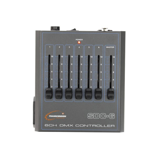Transcension SDC-6 6 Channel DMX Controller