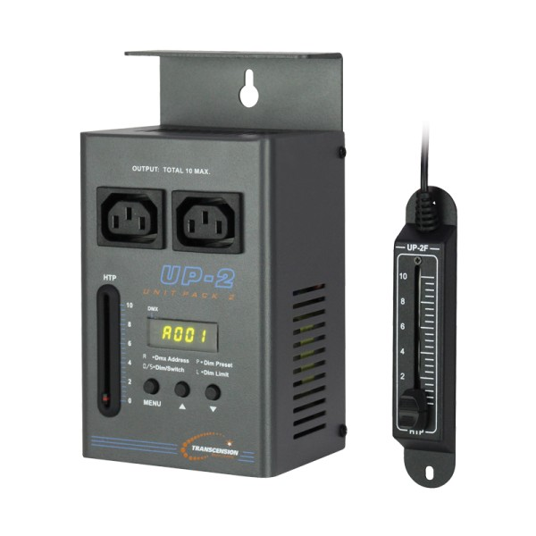 DMX 1 channel Dimmer with Manual Control