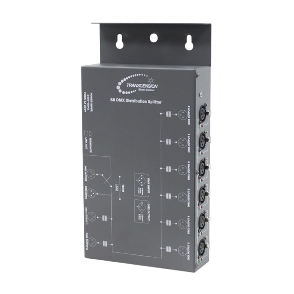 S8 DMX Distribution Splitter