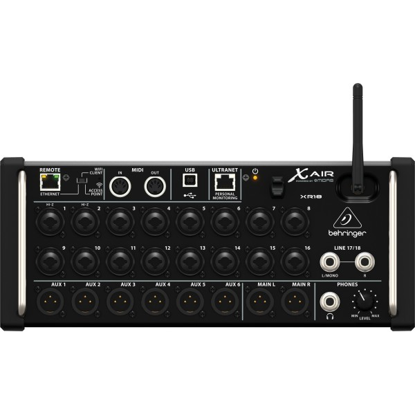 Behringer X AIR XR18 -  18-Channel 12-Bus Digital Mixer for iPad/Android Tablets