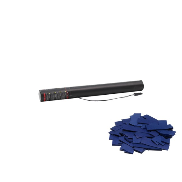 Confetti-Maker Electric Confetti Cannon 50cm Dark Blue