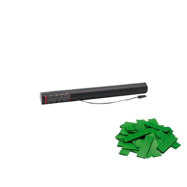 Confetti-Maker Electric Confetti Cannon 50cm Dark Green