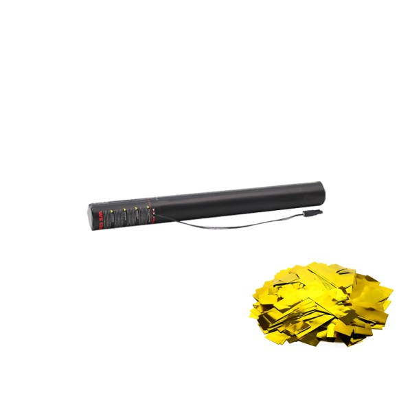 Confetti-Maker Electric Confetti Cannon 50cm Gold