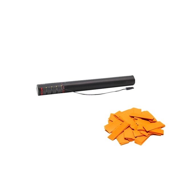 Confetti-Maker Electric Confetti Cannon 50cm Orange