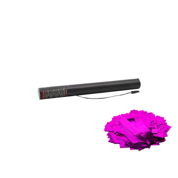 Confetti-Maker Electric Confetti Cannon 50cm Pink Metallic