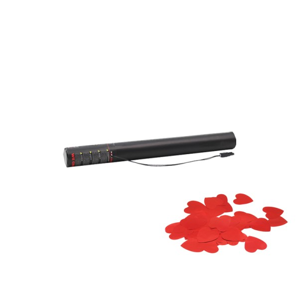 Confetti-Maker Electric Confetti Cannon 50cm Red Hearts