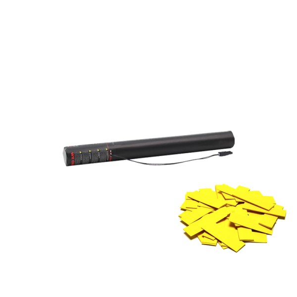 Confetti-Maker Electric Confetti Cannon 50cm Yellow