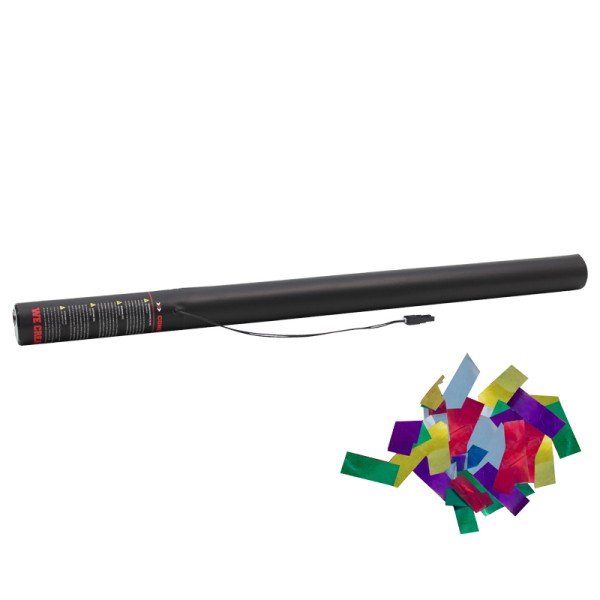 Confetti-Maker Electric Confetti Cannon 80cm Multicolour Metallic