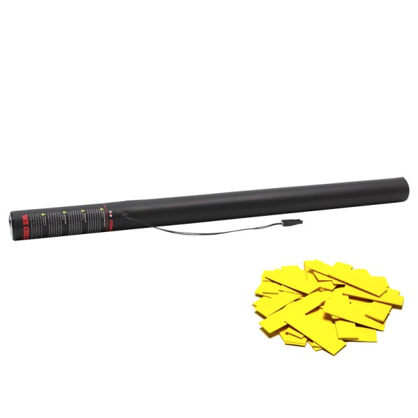 Confetti-Maker Electric Confetti Cannon 80cm Yellow