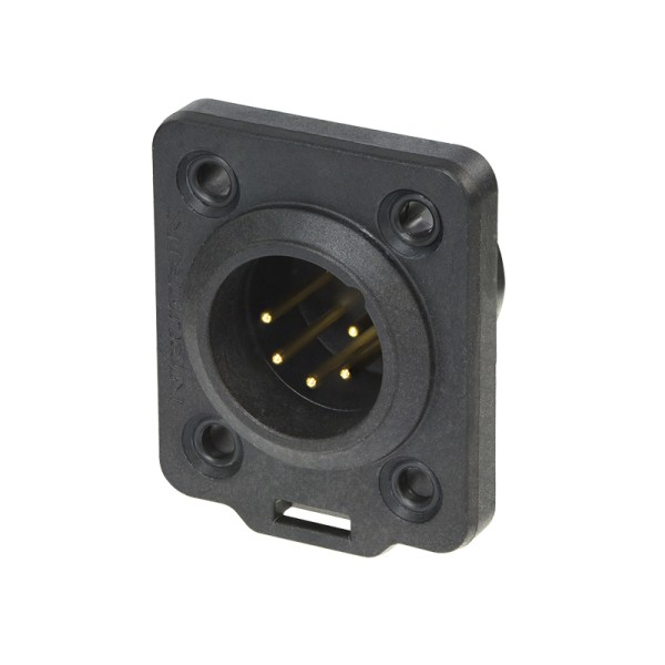 Neutrik XLR 5-pin Male Chassis Plug, IP65, NC5MDX-TOP