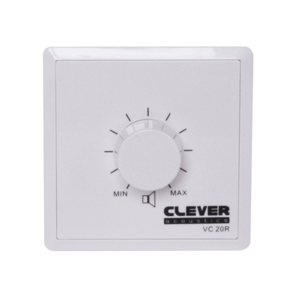 Clever Acoustics VC 20R 100V 20W Volume Control +Relay