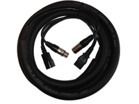 DMX & IEC Extension - Various Cable Lengths