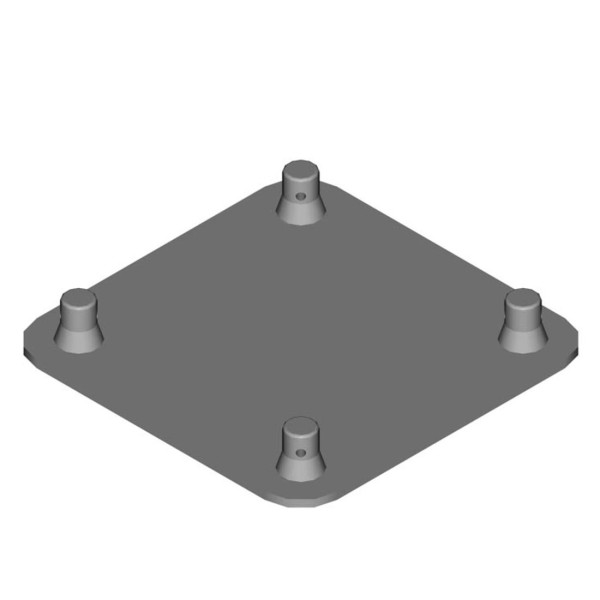 DuraTruss Male Base Plate for DT24 (DT24-BPM)