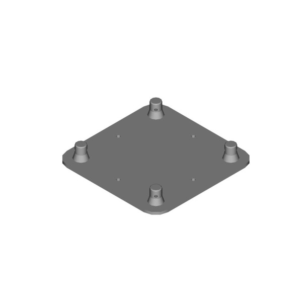DuraTruss Male Wall Plate for DT24 (DT24-WPM)