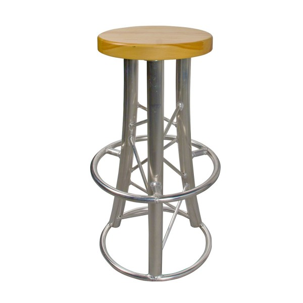 DuraTruss Round Top Stool with 3 Curved Legs (DT-Stool2 3LegsRound)