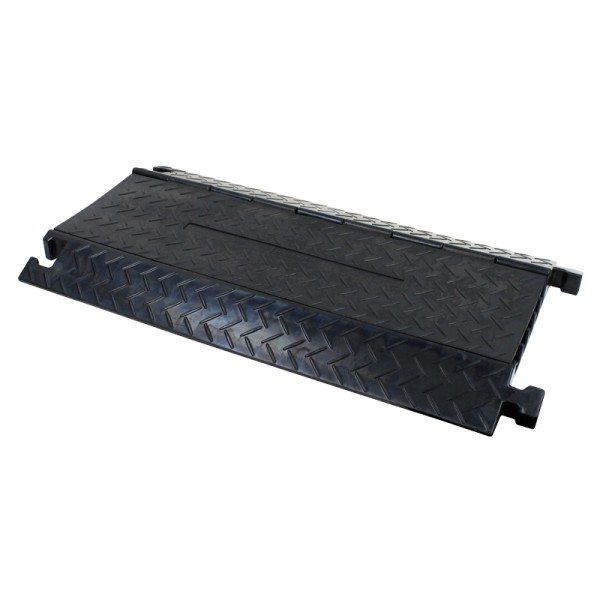 CP535B 5 Channel Cable Ramp (Black Lid)