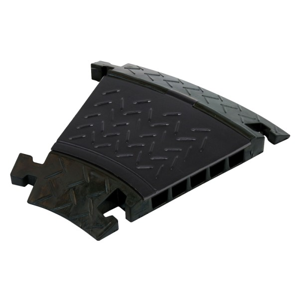 Elumen8 CP535CB 5 Channel Cable Ramp 30 Degree Corner (Black Lid)
