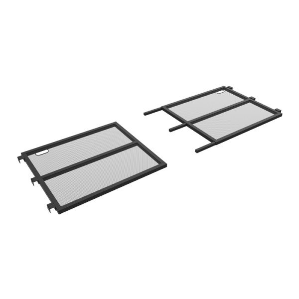 Equinox Aluminium Lightweight DJ Booth MKII Metal Shelf