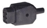 EVF Female inline connector