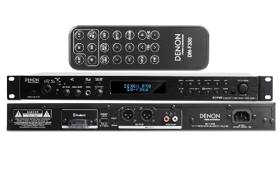 Denon DN F350 Media Player, Bluetooth, SD/SDHC, USB and AUX inputs