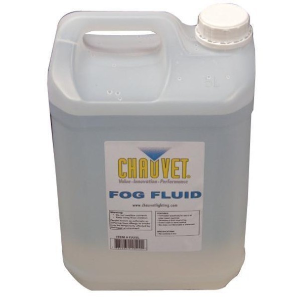 Chauvet DJ High Performance Fog Fluid - 5 litres