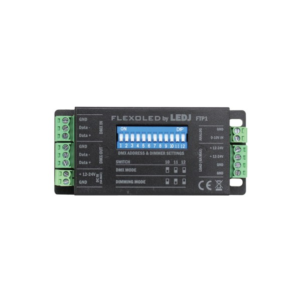 LEDJ Flexoled FTP1 Single Channel LED DMX Driver