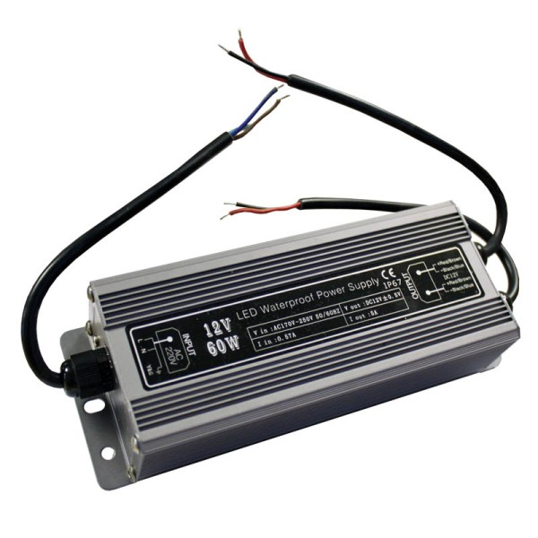 LEDJ Flexoled IP65 60W Power Supply