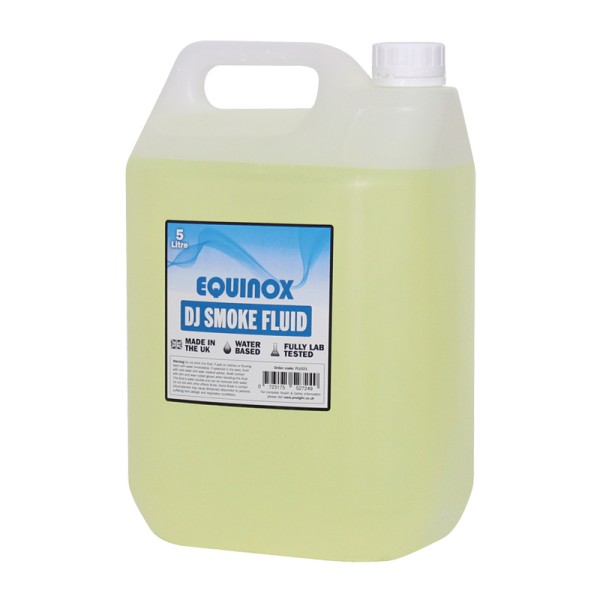 Equinox DJ Smoke Fluid 5 Litres (Shipped in 4's)