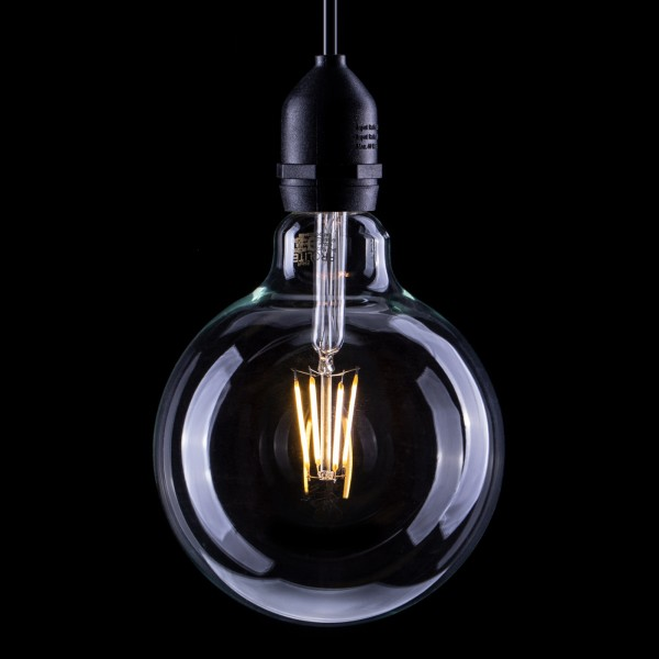 Prolite 6W Dimmable LED G125 Globe Filament Lamp 2200K ES