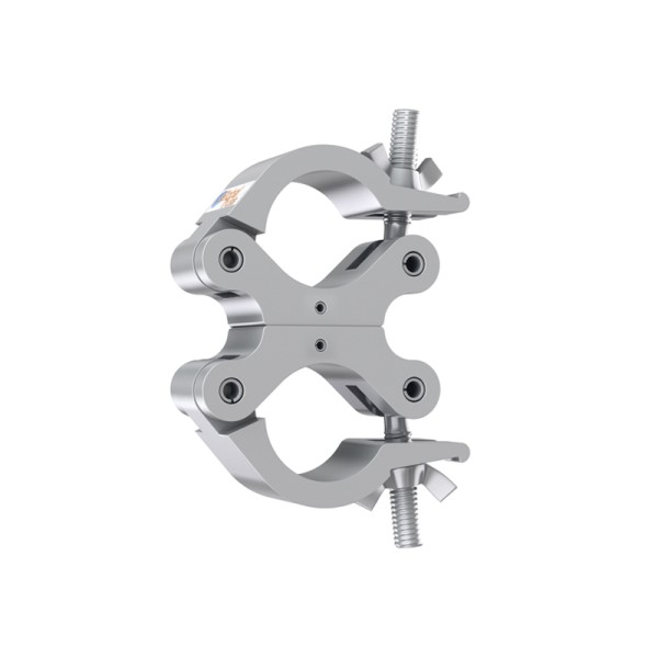 Global Truss Fixed Parallel Swivel Coupler (ST8231UA) Silver