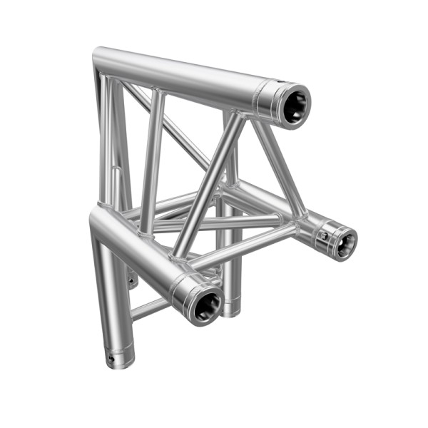 Global Truss F33 PL 2 Way 90 Degree Corner Apex Out (F33C24PL)