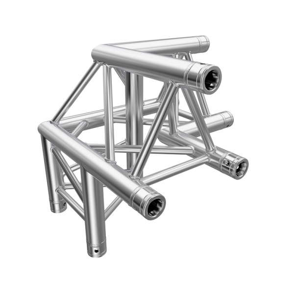 Global Truss F33 PL 3 Way 90 Degree Corner L/H Apex Up (4094-32PL)