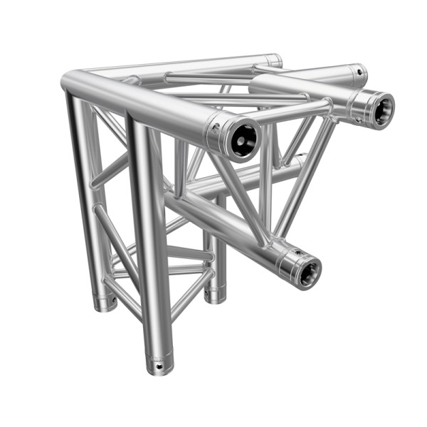 Global Truss F33 PL 3 Way 90 Degree Corner L/H Apex Down (PL-4093-34)