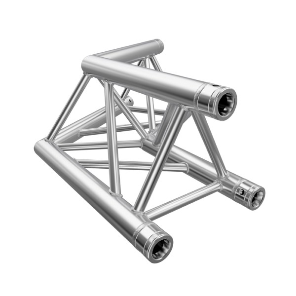 Global Truss F33 PL 2 Way 120 Degree Corner (F33C22PL)