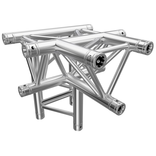 Global Truss F33 PL 4 Way T Piece Apex Down (PL 4097-42)