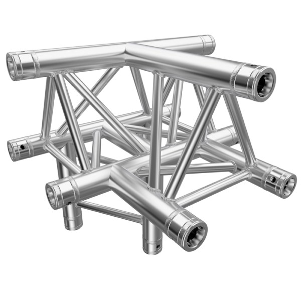 Global Truss F33 PL 4 Way T Piece Apex Up (PL 4098-43)