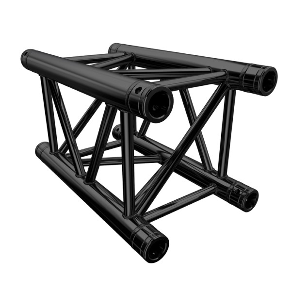 Global Truss F34 PL 0.5 Metre Stage Black Truss (F34050PL-B)