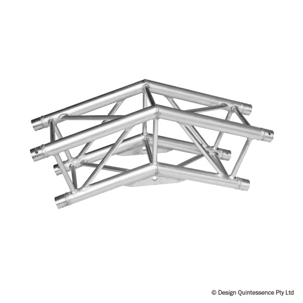 Global Truss F34 PL 2 Way 144 Degree Corner (F34C21-144PL)
