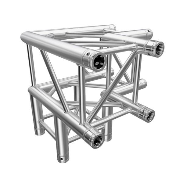 Global Truss F34 PL 3 Way 90 Degree Corner (4126-30PL)