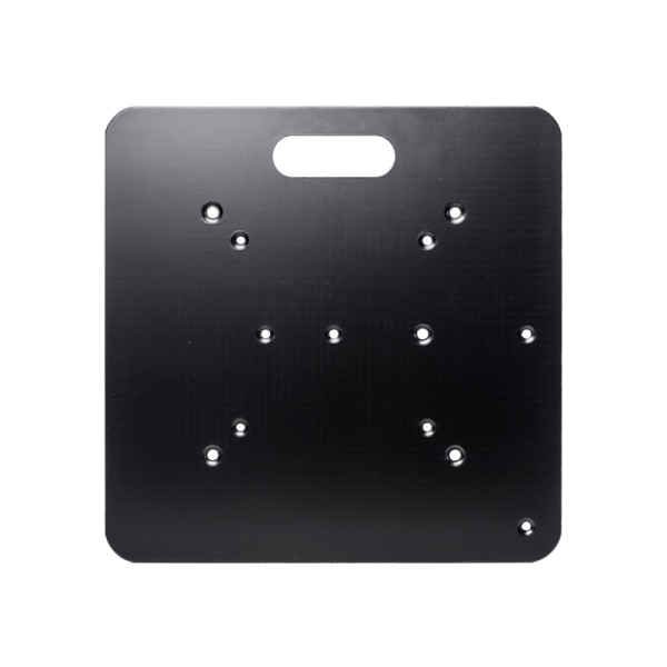 Global Truss BS450 Multi Base Plate 450 x 450 x 5mm Black F31-F34; F22-F24 (No Conicals)