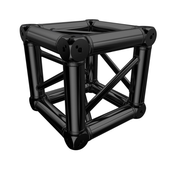 Global Truss F34 PL Stage Black Box Corner (ST-NEW-02-1PL-B)