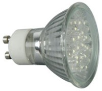 GU10 LED lamp 230V - White,Blu,Red,Grn & Yel