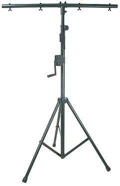 Heavy Duty Lighting Stand  with Winch and T-Bar