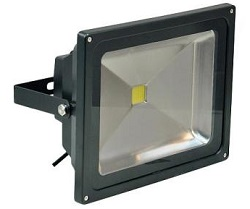 LED Floodlight - 50W Warm White - Black Casing