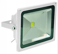 LED Floodlight - 50W Warm White - White Casing