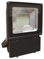 Slimline LED Floodlight - 100W - Black Casing