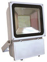 Slimline LED Floodlight - 100W - White Casing