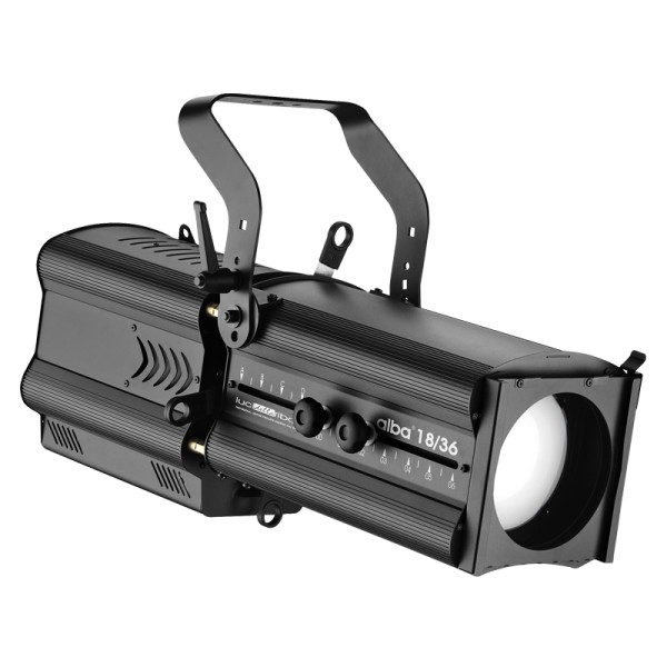 LDR Alba 18/36 W, 250W 3200K LED Profile, Black